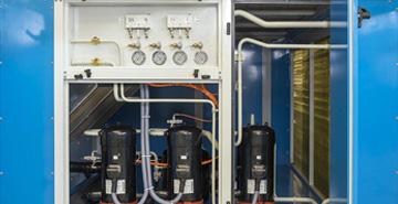 Klima komore sa integr. sistemom za hlađenje